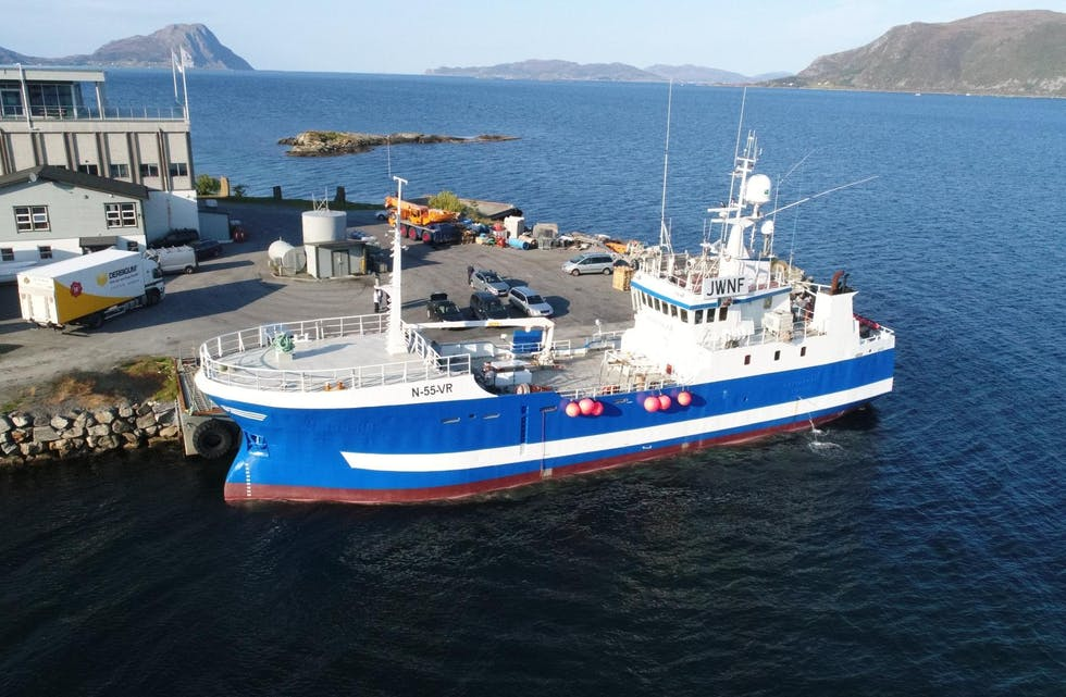 """Stattegg"" ver ""Østerhav"", etter at Olav O. Østervold og kompani svarar på politiske signal med å handla ny båt. Foto via Ervik havfiske."