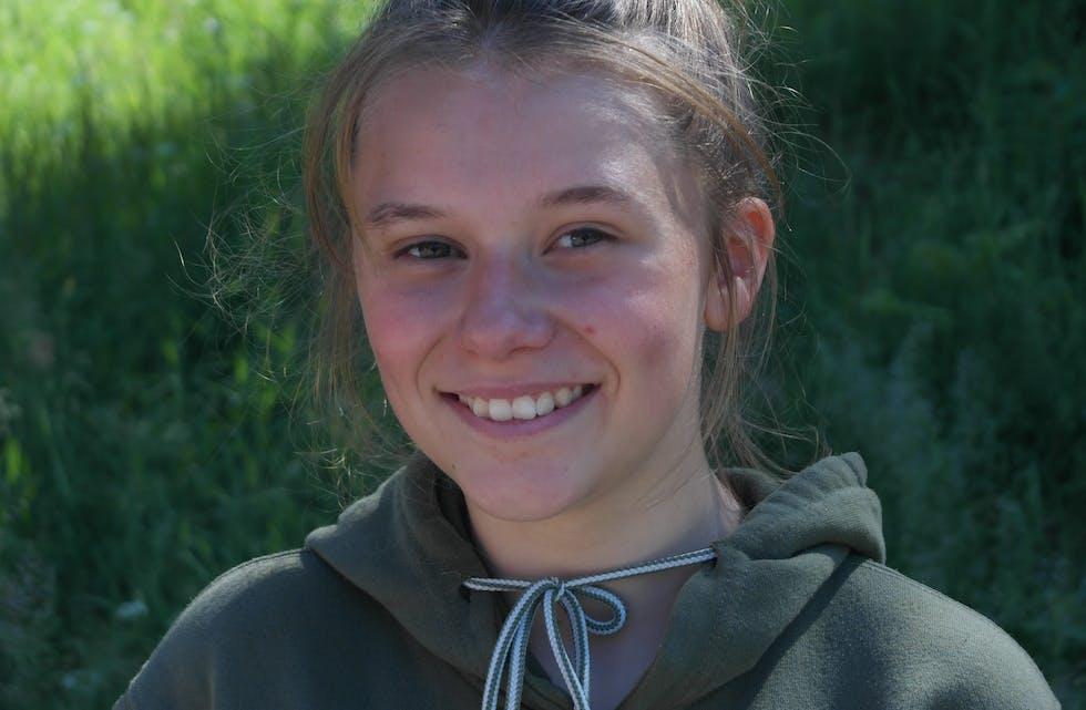 Klar for NM: Amine Solheim Rabben (16).