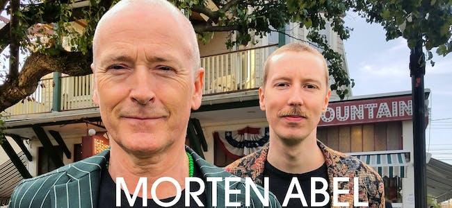 Morten Abel og Thomas Gallantin kjem til Vikje på fredag.