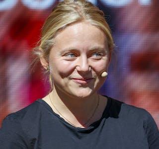 Miljøpartiets Oda Sofie Pettersen kan bli den yngste stortingsrepresentanten gjennom tidene, og synest det er naturleg at fleire no føler eigarskap til klimasaka. Foto: Tor Erik Schrøder / NTB / NPK