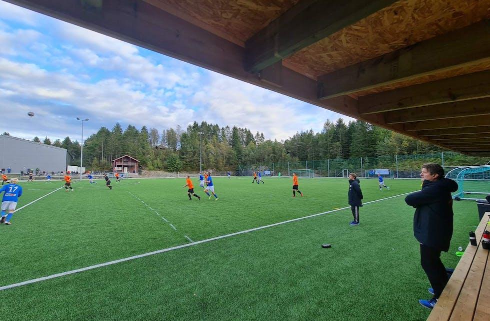 AIK vann 2 - 1 mot Trott på Stord måndag kveld. Foto: Tore Hufthammer.