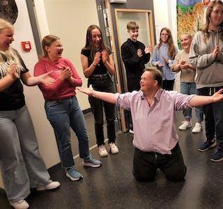 Geir Magnus Haugland fekk mange nye fans etter å framført danseshowet sitt.